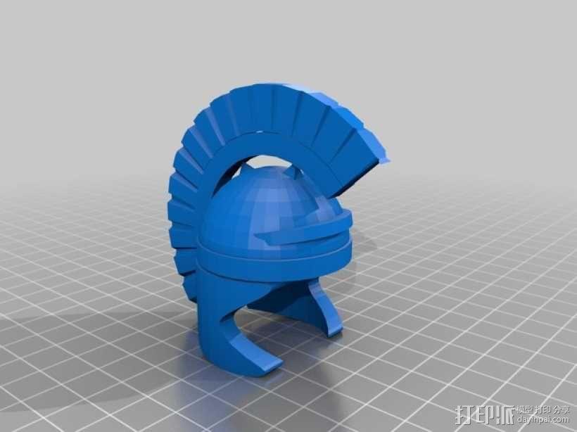 罗马人的头盔 3D模型  图2