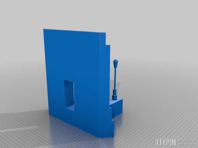 圣地亚哥州立大学钟楼 3D模型  图5
