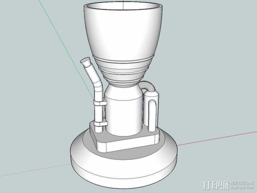 KSP LV-T30 火箭引擎 3D模型  图1