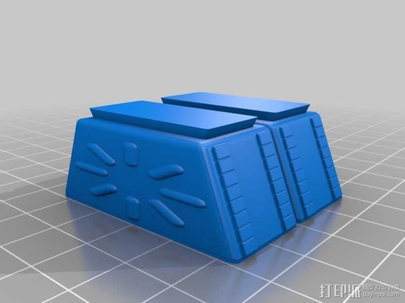 太空迷失机器人 3D模型  图4
