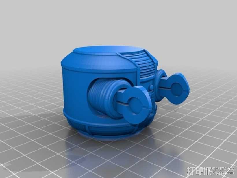 太空迷失机器人 3D模型  图6