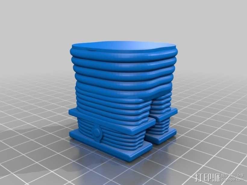 太空迷失机器人 3D模型  图7