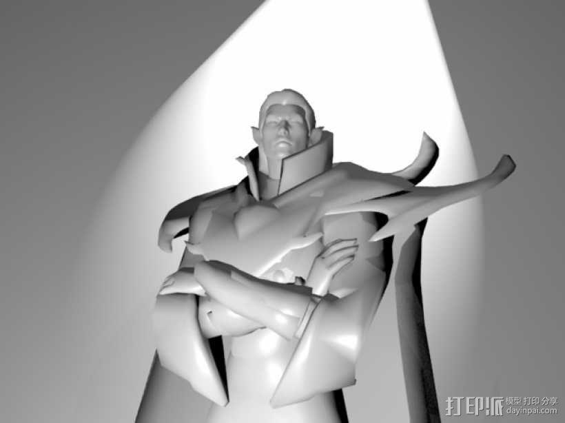 刀塔传奇Invoker人物造型模型 3D模型  图1