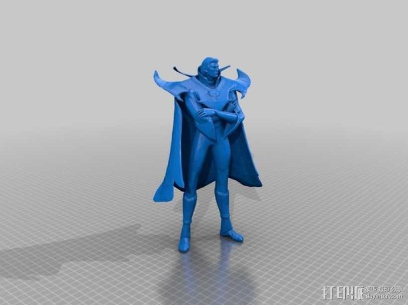 刀塔传奇Invoker人物造型模型 3D模型  图5