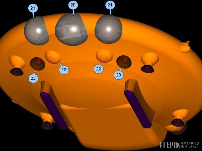混合动力无人机 3D模型  图12