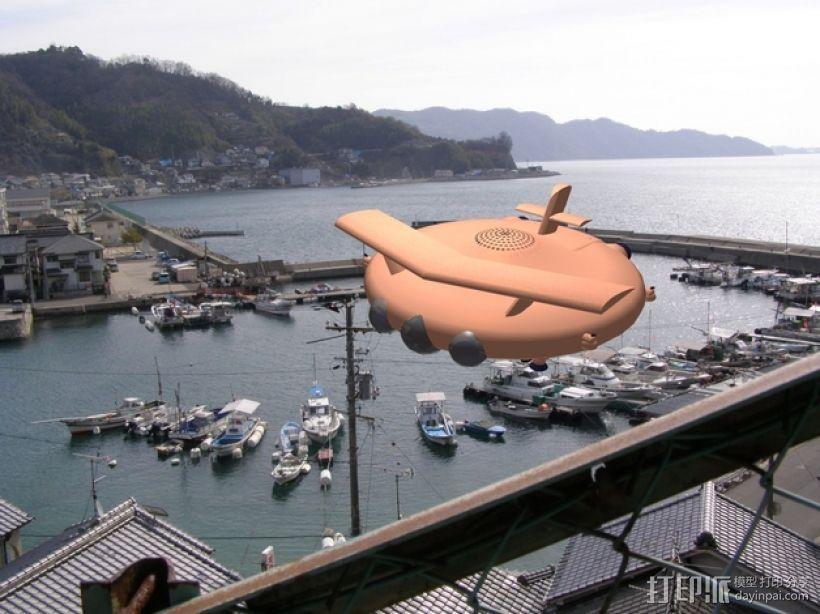 混合动力无人机 3D模型  图15