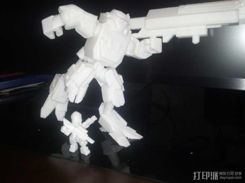 泰坦陨落大力神Atlas模型 3D模型  图2