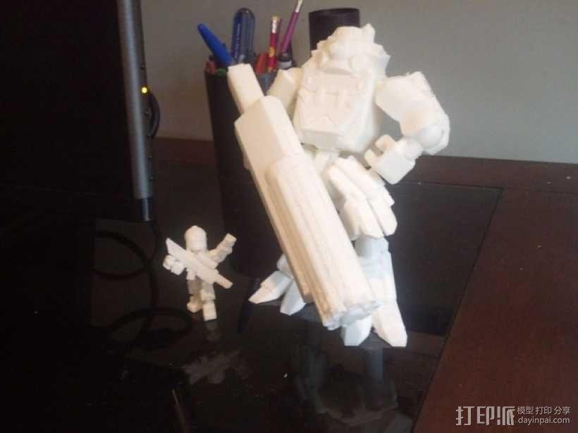 泰坦陨落大力神Atlas模型 3D模型  图1