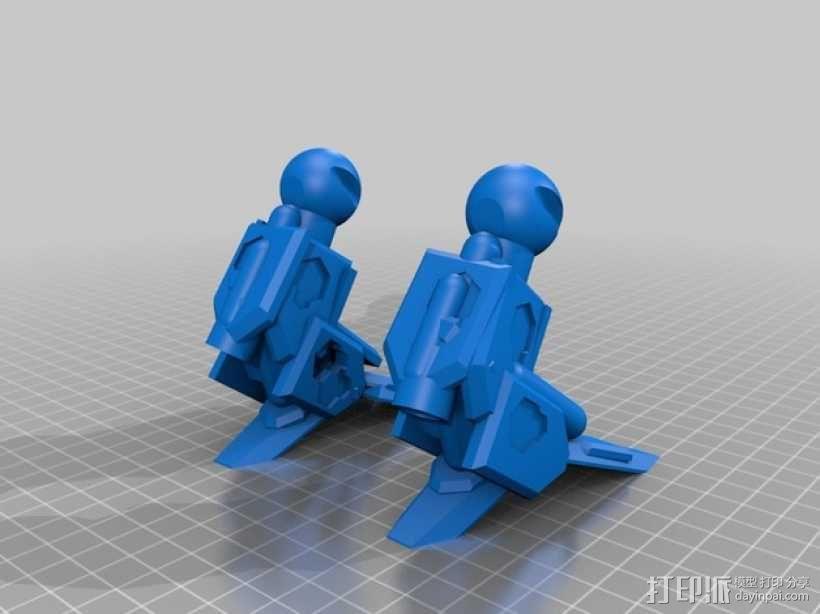 泰坦陨落大力神Atlas模型 3D模型  图3
