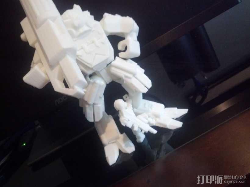 泰坦陨落大力神Atlas模型 3D模型  图9
