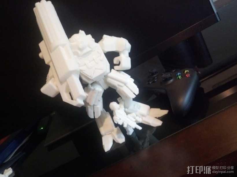 泰坦陨落大力神Atlas模型 3D模型  图13