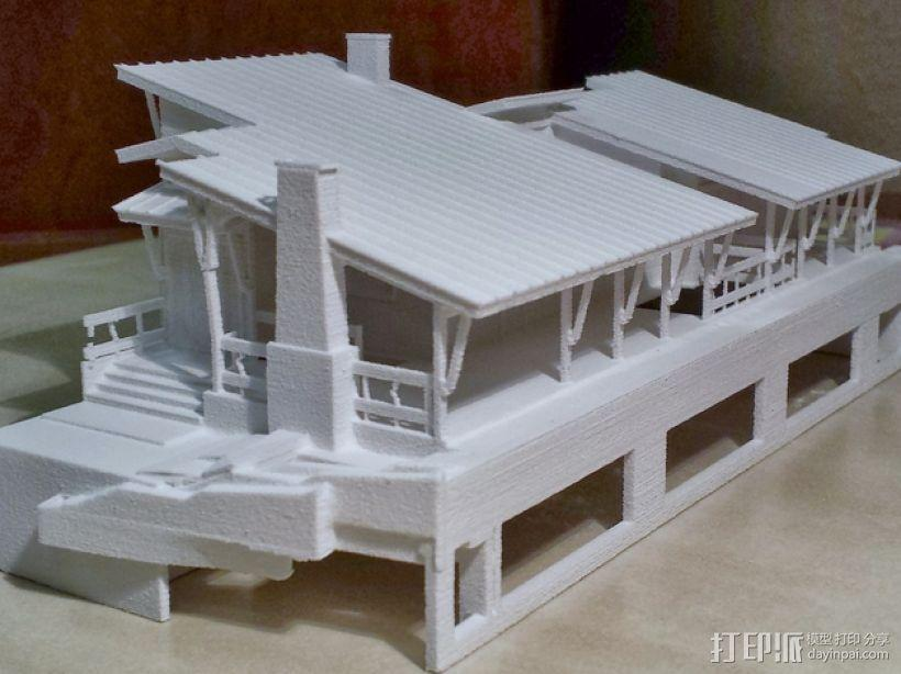 住宅房屋模型 3D模型  图1