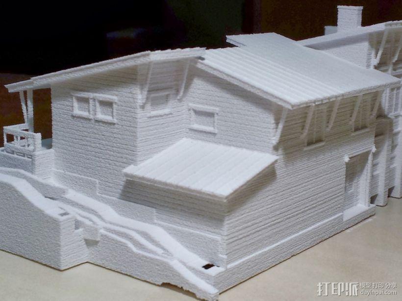 住宅房屋模型 3D模型  图3