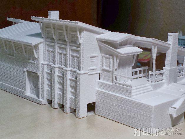 住宅房屋模型 3D模型  图2