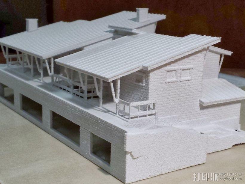 住宅房屋模型 3D模型  图4