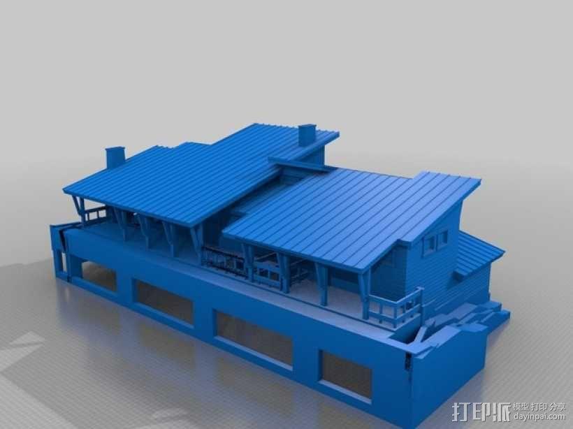 住宅房屋模型 3D模型  图5