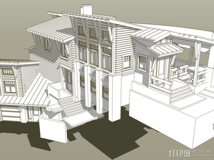 住宅房屋模型 3D模型  图6
