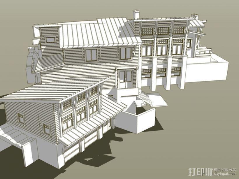 住宅房屋模型 3D模型  图7