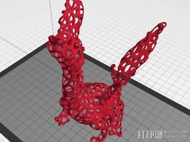 泰森多边形唱歌的火龙 3D模型  图5