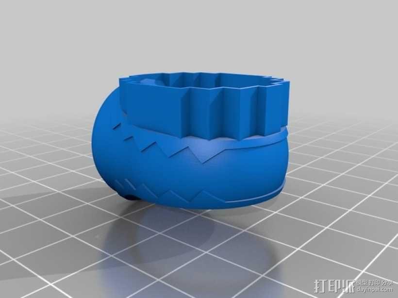 红灯指环 3D模型  图1