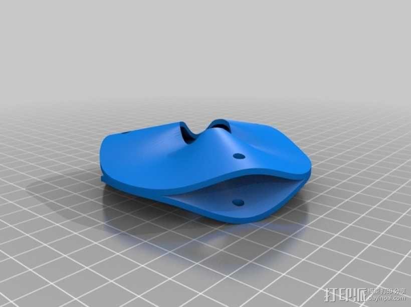 网格球形建筑屋顶 3D模型  图2