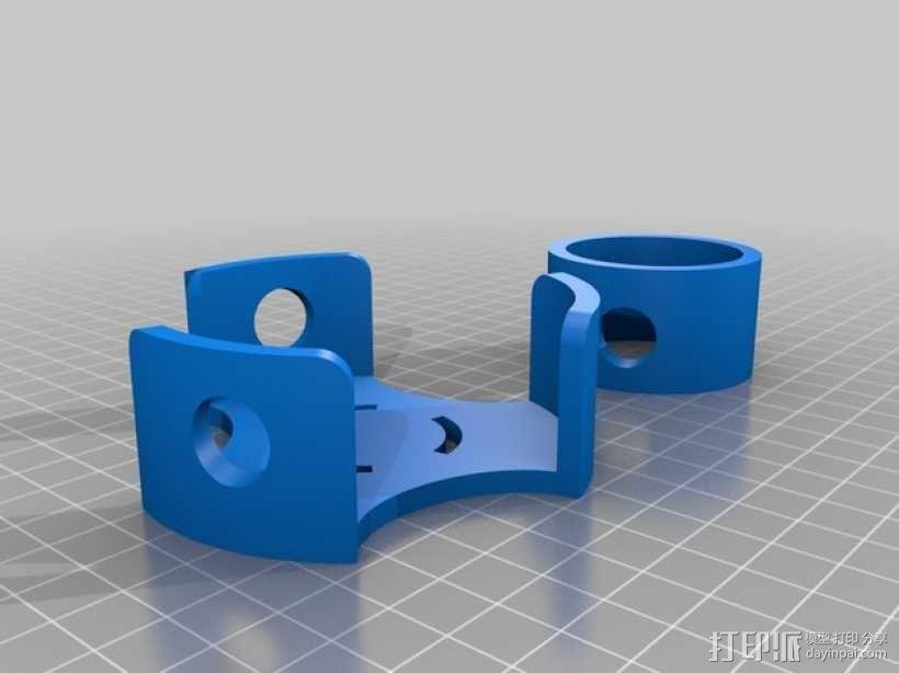圆形屋顶连接器 3D模型  图1