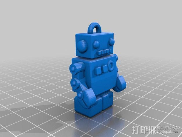 机器人USB 3D模型  图2