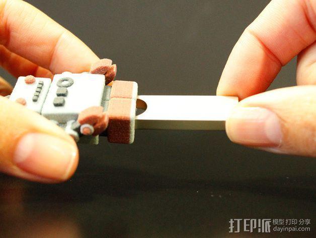 机器人USB 3D模型  图6