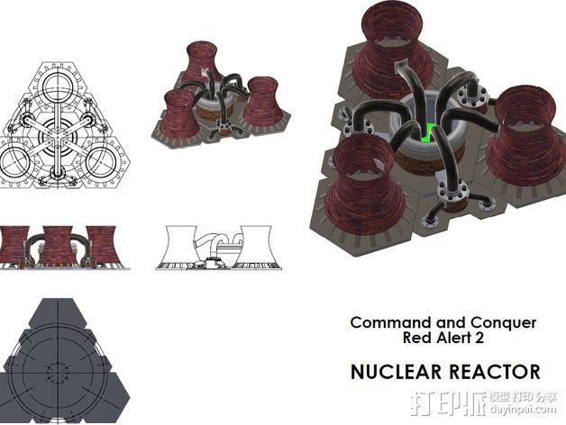 核电站模型  3D模型  图5