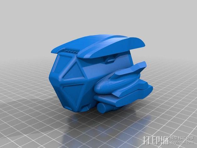 拜伦5号战斗机 3D模型  图4