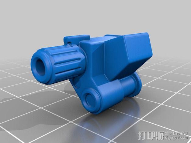 拜伦5号战斗机 3D模型  图5