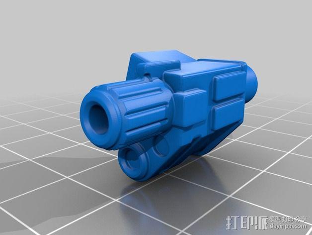 拜伦5号战斗机 3D模型  图6