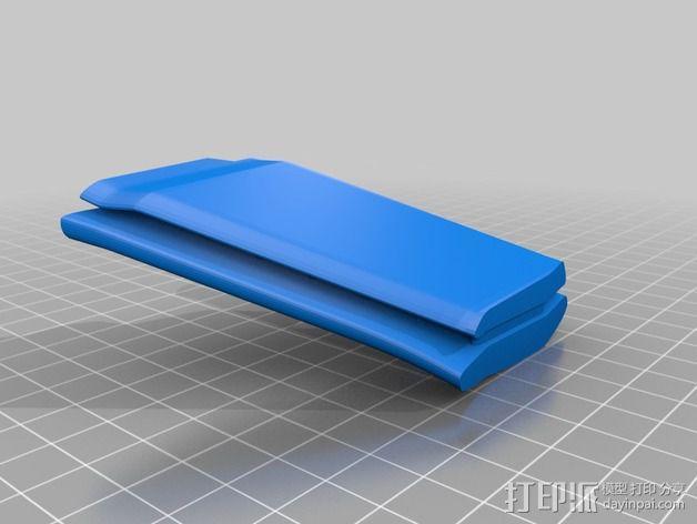拜伦5号战斗机 3D模型  图7
