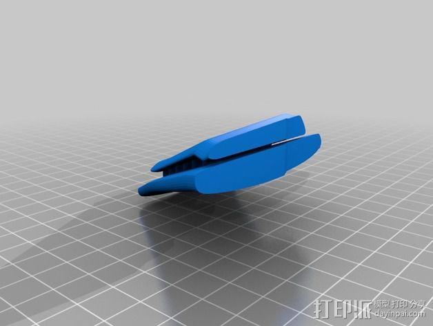 拜伦5号战斗机 3D模型  图10