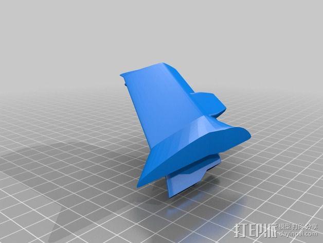 拜伦5号战斗机 3D模型  图9