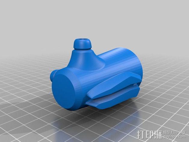 拜伦5号战斗机 3D模型  图12