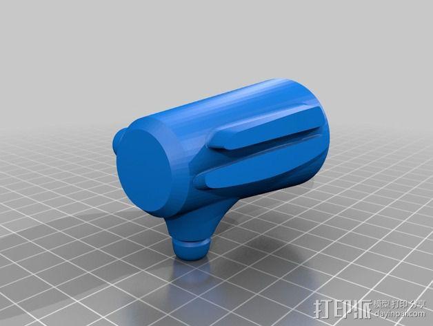 拜伦5号战斗机 3D模型  图11
