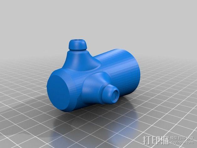 拜伦5号战斗机 3D模型  图13