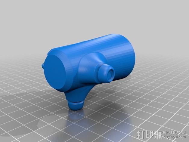 拜伦5号战斗机 3D模型  图14