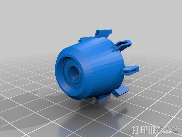 拜伦5号战斗机 3D模型  图15