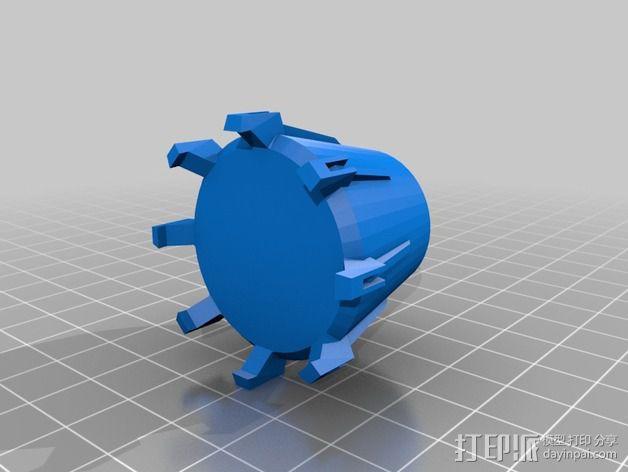 拜伦5号战斗机 3D模型  图16