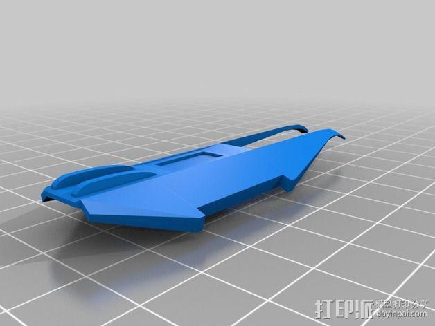 拜伦5号战斗机 3D模型  图20