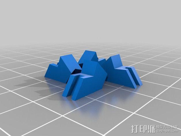 拜伦5号战斗机 3D模型  图18