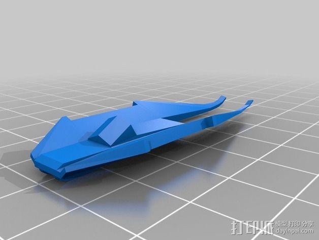 拜伦5号战斗机 3D模型  图19