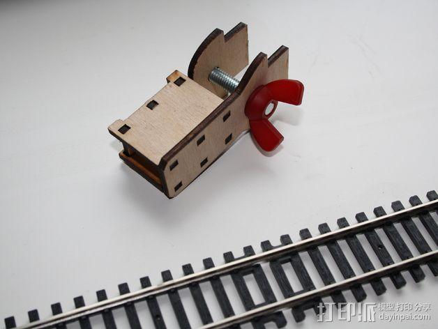 宜家玩具火车轨道底座 3D模型  图2
