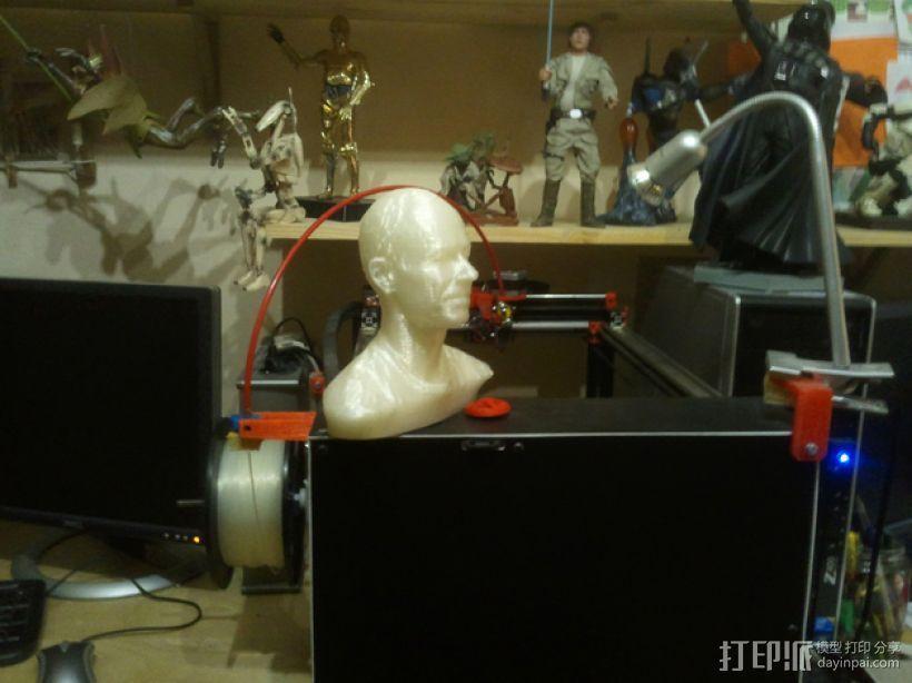写实人物半身像 3D模型  图5