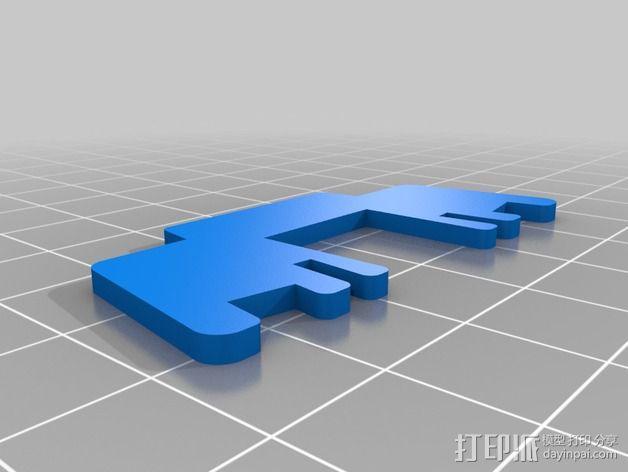 七彩鸟 3D模型  图4