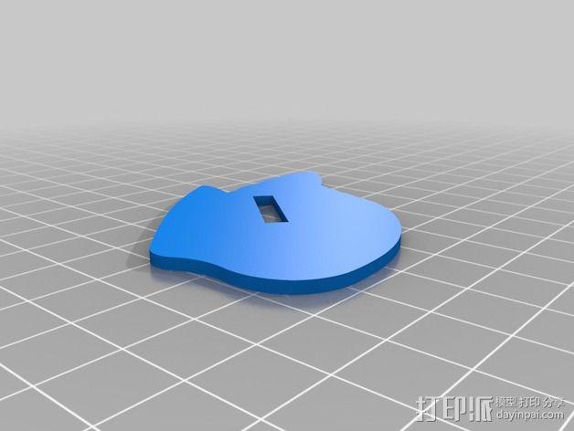 七彩鸟 3D模型  图8