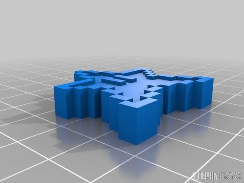 像素星 3D模型  图2