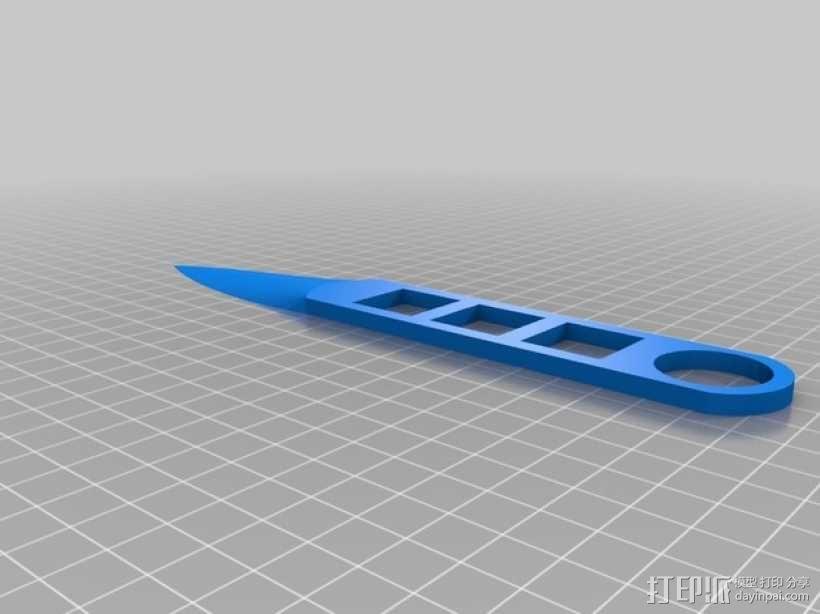 飞刀 3D模型  图1